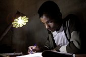 Berhanu studying Photocredit: Olafur Eliasson