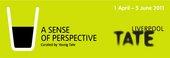 A sense of perspective exhibition banner