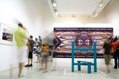 Adam Chodzko Installation view at Tate St Ives, 2008 six