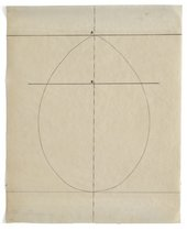 Agnes Martin Untitled_Study for The Egg