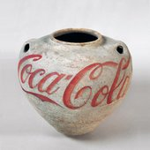 Ai Weiwei Han Dynasty Urn with Coca-Cola Logo 1994
