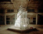 Ai Weiwei and Fake Studio Working Progress Fountain of Light 2007 three