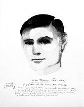 Marlene Dumas Alan Turing Limited Edition print