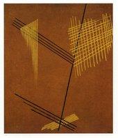 Aleksandr Rodchenko Non-Objective Painting (Line) 1919