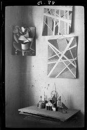 Aleksandr Rodchenko Popova's Studio 1924
