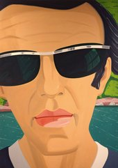 Alex Katz Self-Portrait with Sunglasses