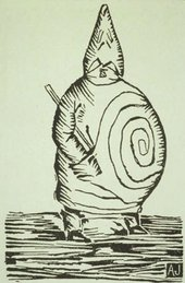 Alfred Jarry Veritable Portrait of M Ubu 1896