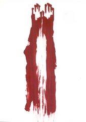 Ana Mendieta Body Tracks (Rastros Corporales) 1982 03