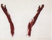 Ana Mendieta Body Tracks (Rastros Corporales) 1982 05