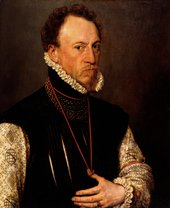 Portrait by Antonis Mor, of Sir Henry Lee 1568