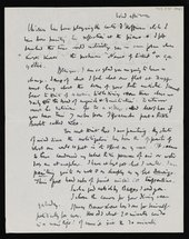 Letter from Walter Sickert to Nan Hudson page 2