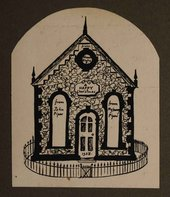 Christmas card created by John Piper Tate Archive