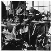 Calder's Studio, Herb Weitman, 1964