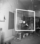 Calder's Studio, Herbert Matter, 1936