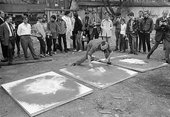Pro-Diaz producing Painting with Explosion DIAS symposium 9-11 September 1966