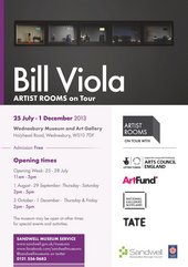 ARTIST ROOMS: Bill Viola at Wednesbury Museum & Art Gallery