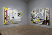 Roy Lichtenstein Artist's Studio 'The Dance' 1974