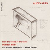 Inlay for Audio Arts supplement Damien Hirst: From Cradle to the Grave showing a sketch by Hirst of his piece Away from the Flock