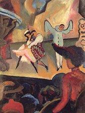 August Macke Russian Ballet I 1912