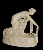 Thomas Banks Thetis dipping Achilles into the River Styx
