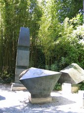 Barbara Hepworth Conversation with Magic Stones 1973 in the Barbara Hepworth Sculpture Garden