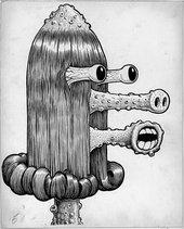 Basil Wolverton, Heap 1955 ink on paper