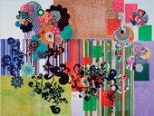 Beatriz Milhazes Avenida Brasil 2003–4 Acrylic on canvas