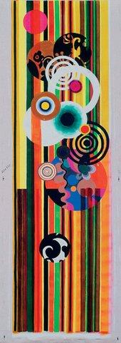 Beatriz Milhazes O Caipira 2004 Acrylic on canvas