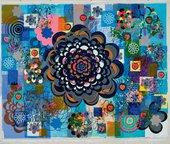 Beatriz Milhazes Palmolive 2004 Acrylic on canvas