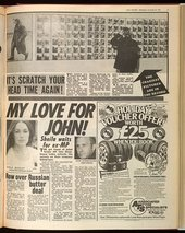 Newspaper cutting from The Daily Record 22 November 1978