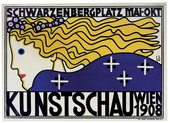 Berthold Loeffer Kunstschau Wien 1908