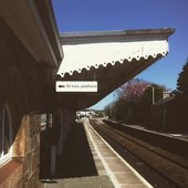 Platform at St Erth Station St Ives Hepworth