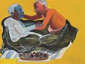 Bhupen Khakhar, Grey Blanket 1998