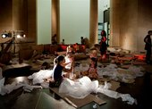 big and small 07; children in Tate Britain event