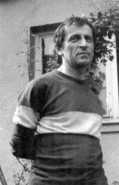 Photographic portrait of Cornel Brudaşcu 1973