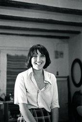 Ángela García in her studio in 1979