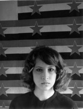 Photographic portrait of Sanja Iveković, 1975