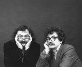 Photographic portrait of Vitaly Komar and Alexander Melamid, 1984