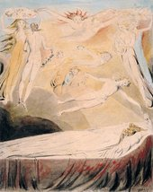 William Blake Queen Katherine's Dream circa 1783-1790