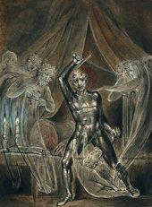 William Blake Richard III and The Ghosts around 1806