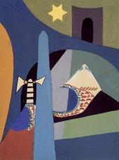Saloua Raouda Choucair Paris-Beirut 1948  © Saloua Raouda Choucair Foundation