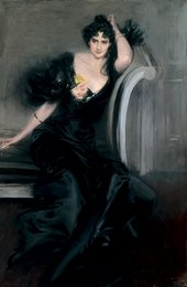 Giovanni Boldini Gertrude Elizabeth, Lady Colin Campbell about 1897 Oil on canvas