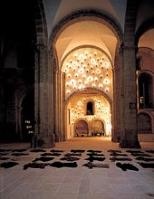 Christian Boltanski Installation Centro Galego de Arte Contemporaneo, Santiago de Compostela