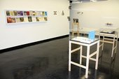 BookMare installation at Camberwell Space 2012