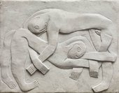Henri Gaudier-Brzeska The Wrestlers 1914