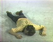 Bruce Nauman Tony Sinking into the Floor, Face Up and Face Down 1973