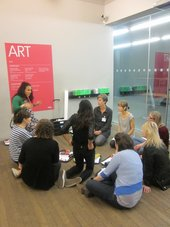 Teachers' activity in the gallery, Tate Modern, 2013 © Tate