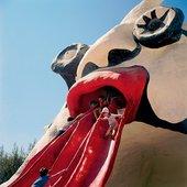 Niki de Saint Phalle's Golum, Rabinovich Park, Jerusalem 1972