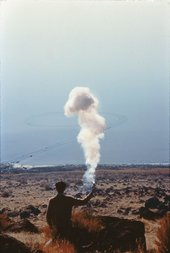 Cai Guo-Qiang The Century with Mushroom Clouds: Project for the Twentieth Century (Salt Lake) 1996