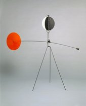 Alexander Calder Red and Yellow Vane 1934